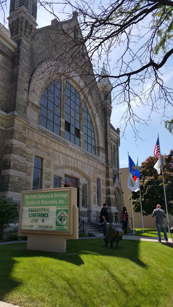 The Irish Cultural Center was a great setting for the Milwaukee Paranormal Conference 2015