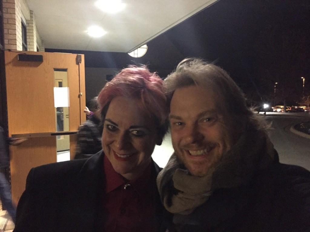 Mike and Lisa visit Saint Maria Goretti